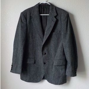 Austin Reeds Blazer 40R Wool Gray Brownish